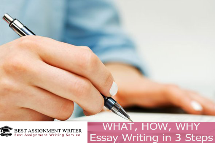 What how why essay writing in 3 steps best assignment writer